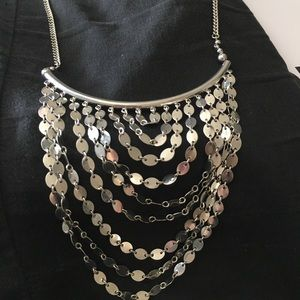 Jewelry - Silver chandelier necklace